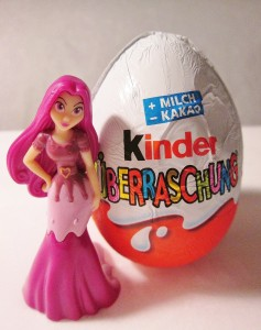 The prize inside was a princess mermaid whose skirt could be switched out for a tail. Where have these eggs been all my life?!