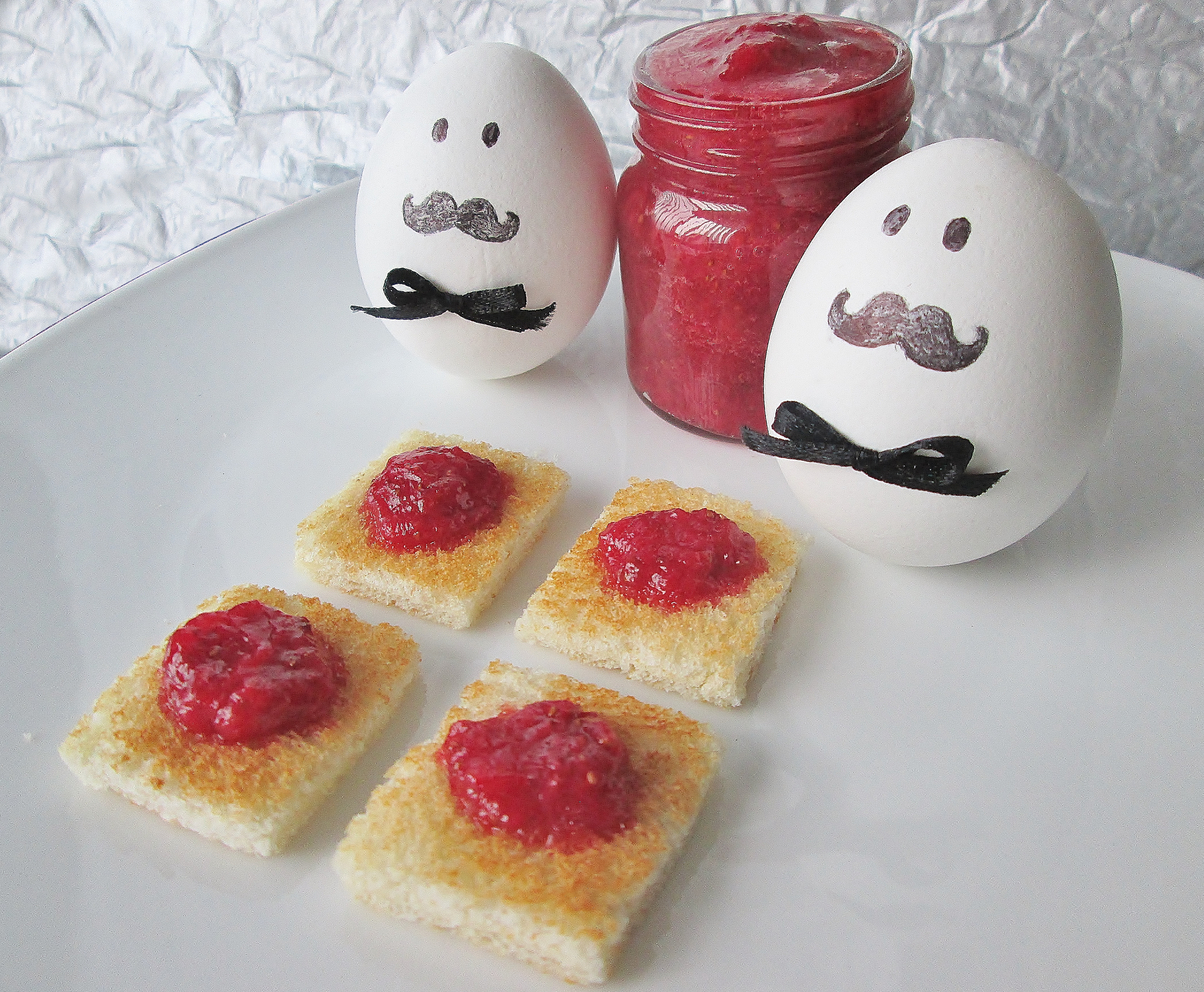 Poirots breakfast toast with homemade strawberry jam and last year we spent the month of halloween making spooky dracula recipes but this year were taking a murder mystery approach an agatha christie forumfinder Images