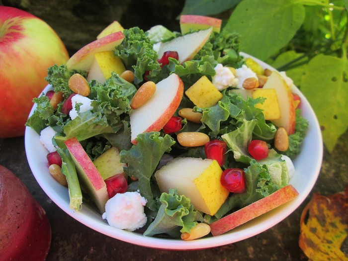 Amity's Autumn Apple Salad