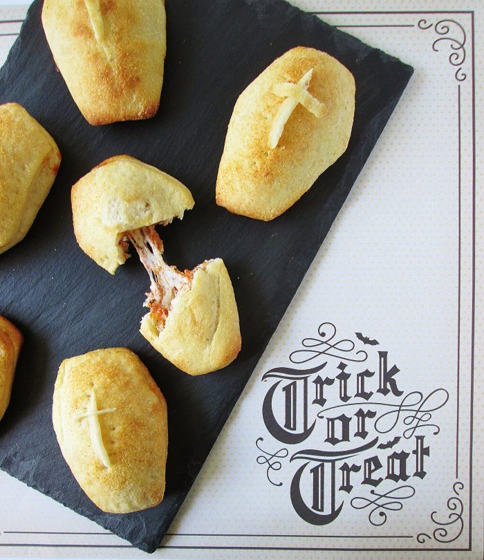 Entree: Coffin Pizza Pockets