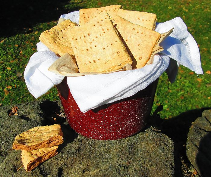 Side Dish: Ship's Biscuits (How to Make Hardtack)
